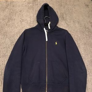 Ralph Lauren Polo Fleece Zip Hoodie
